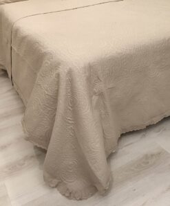 Set 2 copriguanciali Blanc Mariclo Matilda Collection beige 50x80 cm