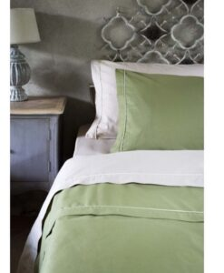 Completo letto 2 piazze Verde Blanc Mariclo Infinity Collection