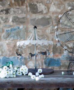 Decoro Giostra Blanc Mariclò Carosello Collection