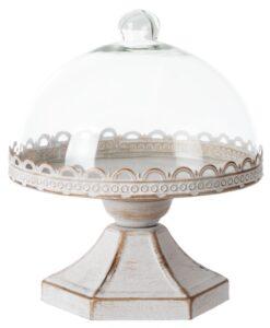 Alzatina con campana Blanc Mariclò