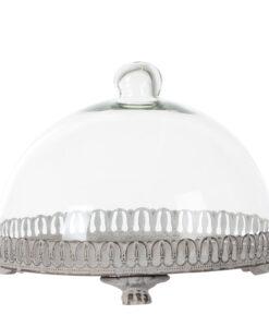 Vassoio con campana Blanc Mariclò