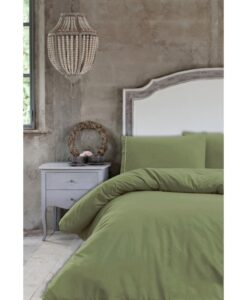 Parure copripiumino matrimoniale Blanc Mariclo Infinity Collection Verde
