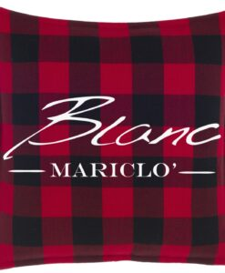 Cuscino Blanc Mariclo Tartan Collection 45x45 cm