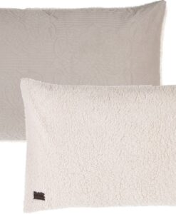 Guanciale Blanc Mariclo Sherpa 50x80 cm Cameo Collection Beige