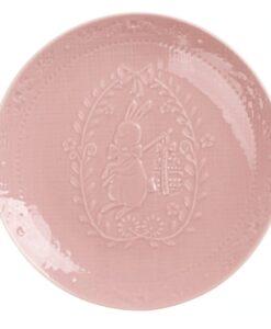 Set 2 piattini coniglietto Blanc Mariclo Il paese delle meraviglie Collection