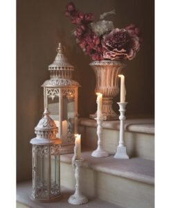 Lanterne esagonali Blanc Mariclo Lucciole e Lanterne Collection