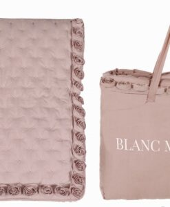 Boutis matrimoniale Blanc Mariclo Petite Rose Collection Rosa
