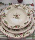 Servizio piatti Moss Rose Collection Blanc Mariclo