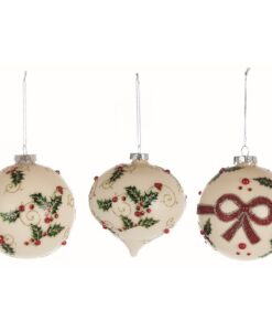 Decoro in vetro Blanc Mariclo Christmas Collection