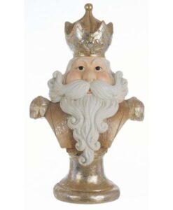 Decorazione Santa Claus Blanc Mariclo H 65 cm