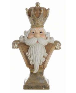Decorazione Santa Claus Blanc Mariclo H 55 cm
