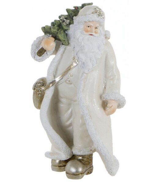 Decorazione Santa Claus Blanc Mariclo Notte Silente Collection H 19,3 cm A25583