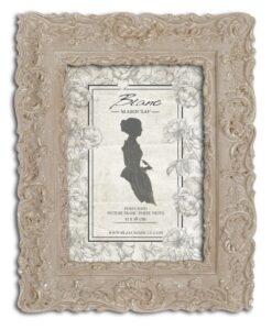 Porta foto Blanc Mariclò Dame e Roseti Collection H 24,8 cm