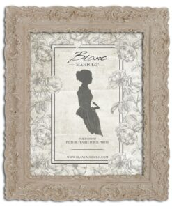 Porta foto Blanc Mariclò Dame e Roseti Collection H 32,3 cm
