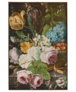 Quadro fiori Blanc Mariclo