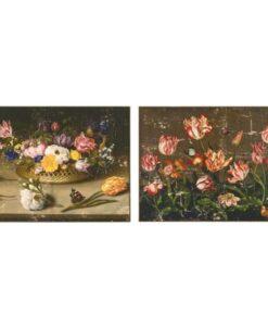 Quadro fiori tulipani Blanc Mariclo A29871