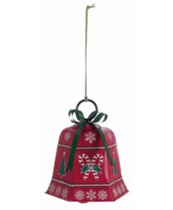 Decoro campana Blanc Mariclo Christmas Retro