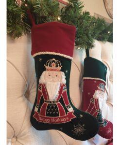 Calza di Natale Blanc Mariclo Happy Holidays