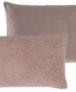 Guanciale Blanc Mariclo Sherpa 50x80 cm Cameo Collection Malva