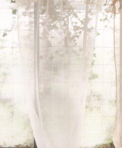 Set 2 Tenda Blanc Mariclo Ruffles Collection 130x290 cm