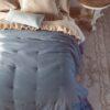 Trapunta Blanc Mariclo singola Loving con gale 350 gsm blu carta da zucchero