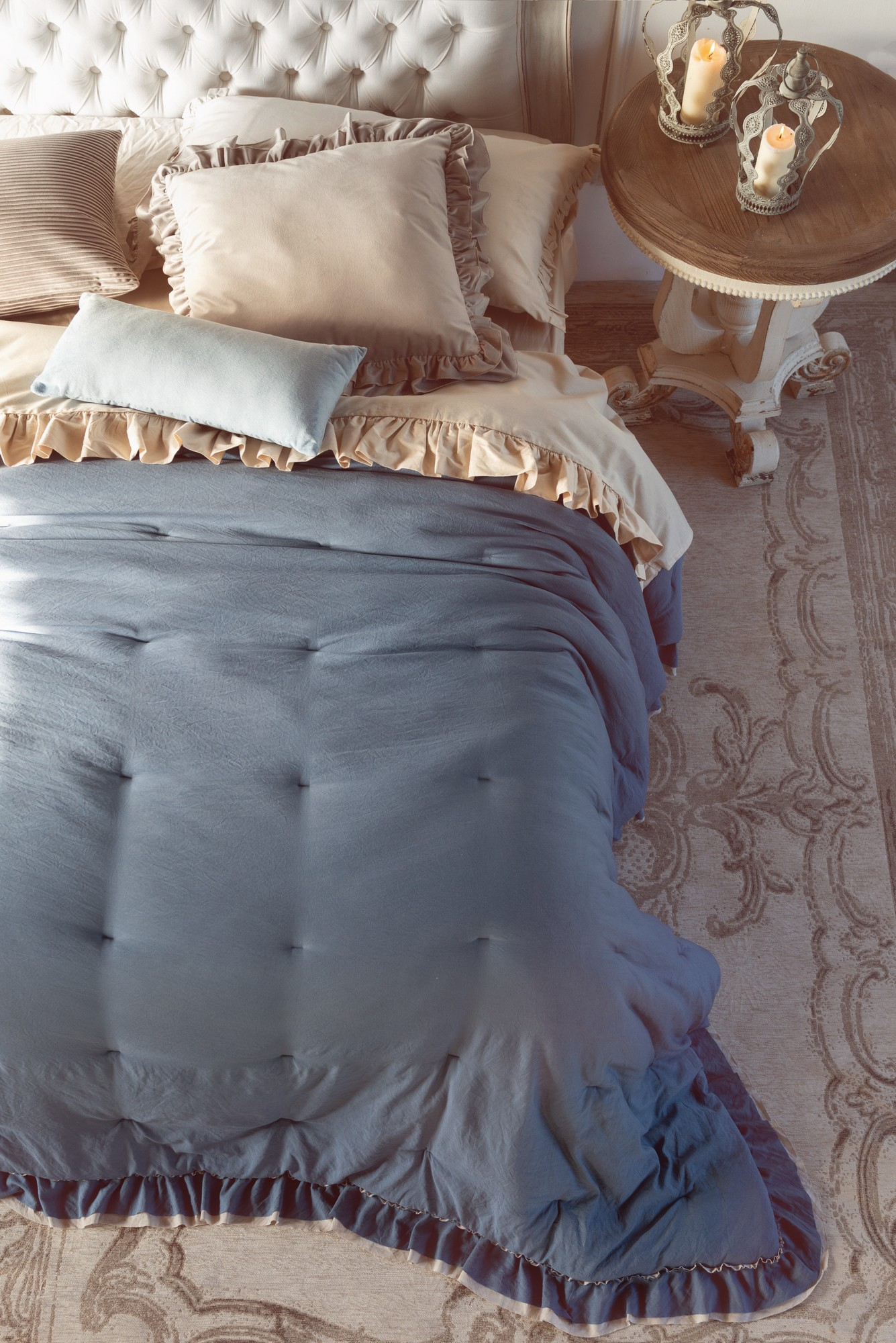 Trapunta Blanc Mariclo Singola Loving Con Gale 350 Gsm Blu Carta Da Zucchero Blanc Mariclo Reggio Emilia