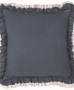 Cuscino con gala Blanc Mariclo Loving blu carta da zucchero
