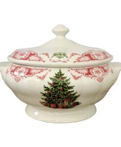 Zuppiera Blanc Mariclo Canto di Natale Collection