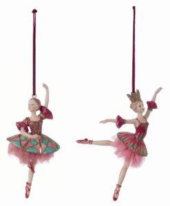 Decoro ballerina Blanc Mariclo Il sogno di Clara Collection