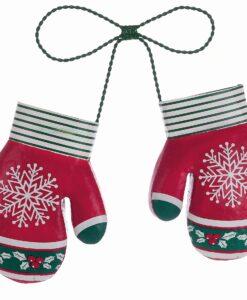 Decoro guanti Blanc Mariclo Christmas Retro H 35 cm
