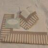 Completo letto 1 piazza Blanc Mariclo balza tinto filo Beige