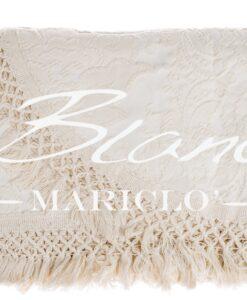 Copriletto Blanc Mariclo Ana Collection Naturale 260x260 cm