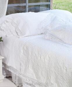 Copriletto Blanc Mariclo Ana Collection bianco 260x260 cm