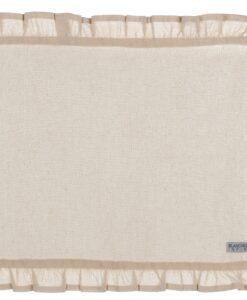 Tovaglietta naturale con galetta Blanc Mariclo 35x48 cm Infinity Collection