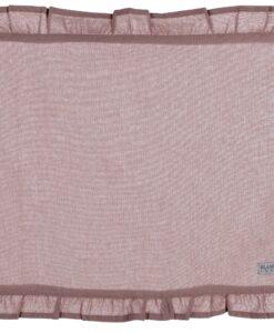 Tovaglietta Rose Powder con galetta Blanc Mariclo 35x48 cm Infinity Collection