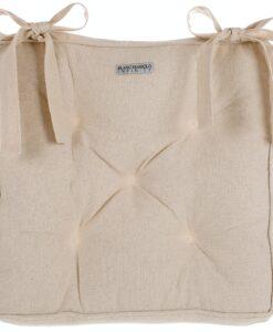 Cuscino sedia polifilled 40x40 cm Infinity Blanc Mariclo Naturale