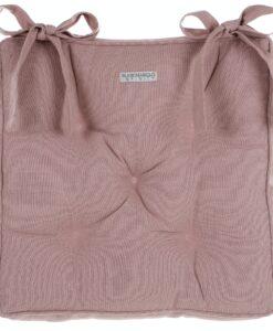 Cuscino sedia polifilled 40x40 cm Infinity Blanc Mariclo Rose Powder