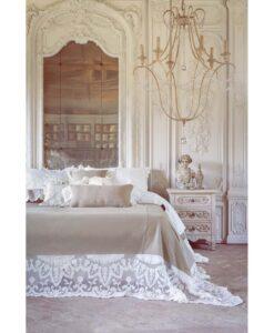 Cuscino con pizzo Blanc Villa Madama Collection 30x50 cm
