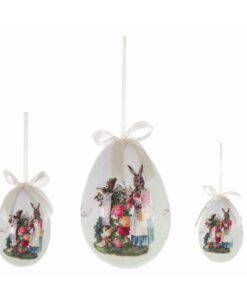 Set 3 Decori uova di Pasqua Blanc Mariclo Easter Fantasy