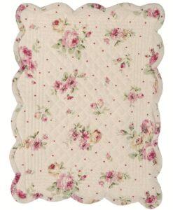 Set americano rettangolare Blanc Mariclo Desdemona 33x45 cm