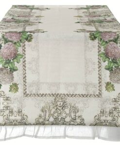 Runner Blanc Mariclo Euridice Collection