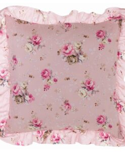 Cuscino con gala Blanc Mariclo Ophelia Collection rosa