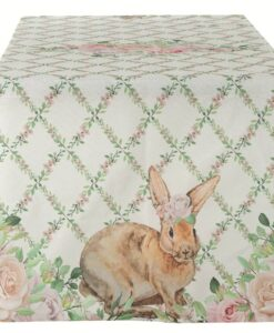 Runner Blanc Mariclo Romantic Easter Collection