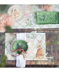 Tovaglietta Blanc Mariclo Romantic Easter Collection