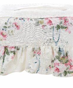Copri scatola fazzoletti Blanc Mariclo Manon Collection