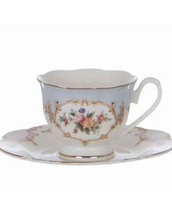 Tazzine caffè con piattino Blanc Mariclo Porto Venere Collection
