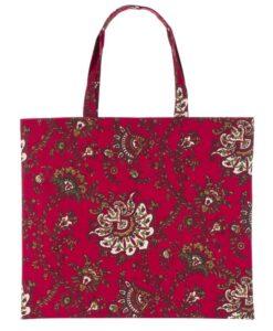 Shopper Blanc Mariclo Paisley Collection 45x40 cm