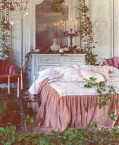 Copriletto singolo Blanc Mariclo Queen Mary Collection Rosa