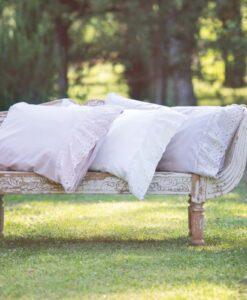 Completo letto matrimoniale Blanc Mariclo Cipria Collection Rosa