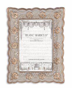 Porta foto Blanc Mariclò Cavaliere della rosa Collection H 20,7 cm